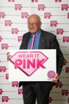 Nick Raynsford MP is 'wearing it pink' to help back the fight against breast cancer