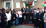 Nick Opens New Leaf Centre at Charlton Triangle Homes